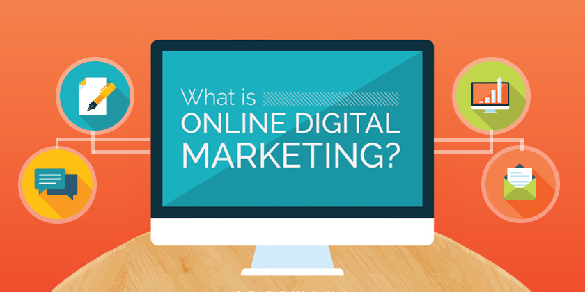 What is Online Digital Marketing? [INFOGRAPHIC]