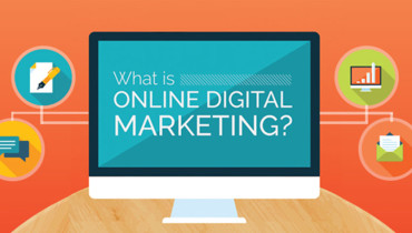 Online Digital Marketing – Infographic