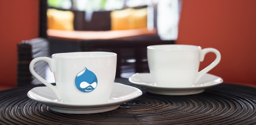 Our Coffee Date with Dries, the Creator of Drupal