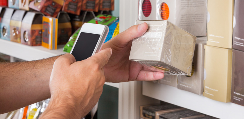 42% of Millennials Use Their Smartphones In-store